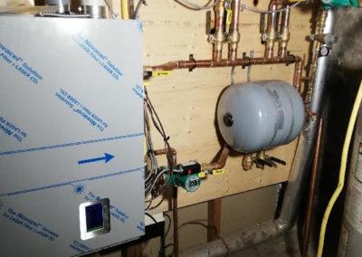 Boiler Installed - DH Plumbing